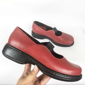 Dansko | Clog Slip On lShoes Color Red Size 8 1/2